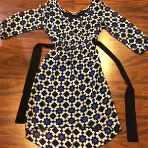 Precious high low dress size small